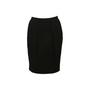 Authentic Second Hand Prada Black Pencil Skirt (PSS-608-00054) - Thumbnail 0