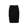 Authentic Second Hand Prada Black Pencil Skirt (PSS-608-00054) - Thumbnail 1