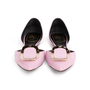 Authentic Second Hand Roger Vivier Patent Chips D'Orsay Flats (PSS-855-00024) - Thumbnail 0