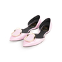 Authentic Second Hand Roger Vivier Patent Chips D'Orsay Flats (PSS-855-00024) - Thumbnail 3