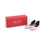 Authentic Second Hand Roger Vivier Patent Chips D'Orsay Flats (PSS-855-00024) - Thumbnail 7