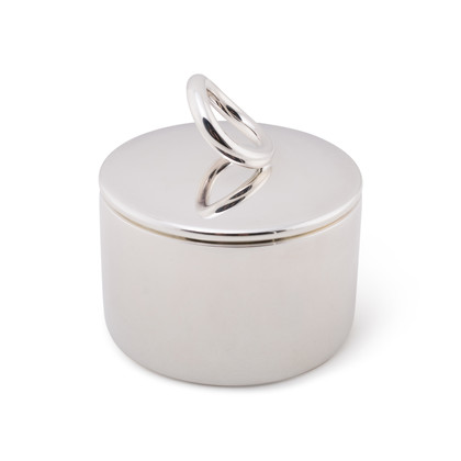Authentic Second Hand Christofle Vertigo Sugar Bowl (PSS-A04-00022)