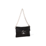 Authentic Second Hand Prada Suede Chain Link Flap Bag (PSS-393-00182) - Thumbnail 1