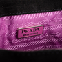 Authentic Second Hand Prada Suede Chain Link Flap Bag (PSS-393-00182) - Thumbnail 4