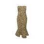Authentic Second Hand Cinq à Sept Animal Print Bustier Dress (PSS-148-00078) - Thumbnail 0