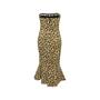 Authentic Second Hand Cinq à Sept Animal Print Bustier Dress (PSS-148-00078) - Thumbnail 1