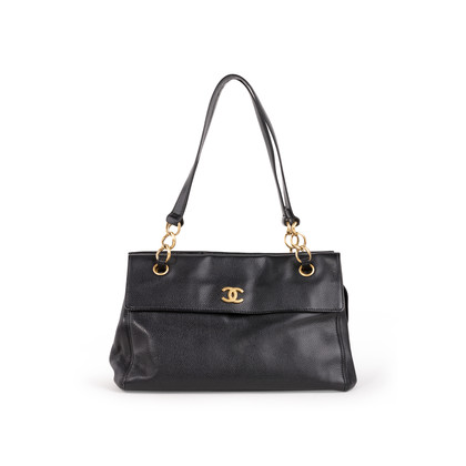 Authentic Second Hand Chanel Caviar Tote Bag (PSS-B26-00001)
