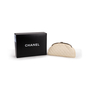 Authentic Second Hand Chanel Peforated Half Moon Clutch (PSS-B26-00006) - Thumbnail 6