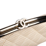 Authentic Second Hand Chanel Peforated Half Moon Clutch (PSS-B26-00006) - Thumbnail 7