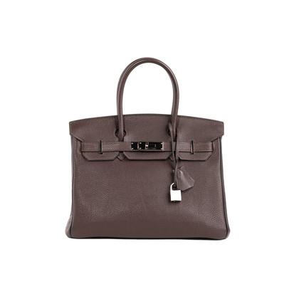 Authentic Second Hand Hermès Ebene Birkin 30 (PSS-034-00088)