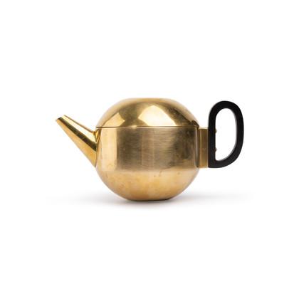 Authentic Second Hand Tom Dixon Form Brass Teapot (PSS-707-00028)