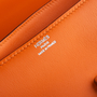 Authentic Second Hand Hermès Orange Swift Constance Elan (PSS-B24-00001) - Thumbnail 5