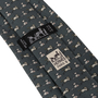 Authentic Second Hand Hermès Cat and Mouse Silk Tie (PSS-859-00163) - Thumbnail 2
