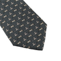 Authentic Second Hand Hermès Cat and Mouse Silk Tie (PSS-859-00163) - Thumbnail 3