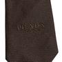Authentic Second Hand Prada Dark Brown Silk Tie (PSS-859-00169) - Thumbnail 4
