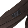 Authentic Second Hand Prada Dark Brown Silk Tie (PSS-859-00169) - Thumbnail 3
