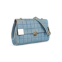 Authentic Second Hand Chanel Square Quilt Denim Flap Bag (PSS-988-00044) - Thumbnail 1