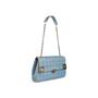 Authentic Second Hand Chanel Square Quilt Denim Flap Bag (PSS-988-00044) - Thumbnail 4