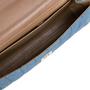 Authentic Second Hand Chanel Square Quilt Denim Flap Bag (PSS-988-00044) - Thumbnail 6