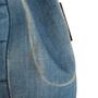 Authentic Second Hand Chanel Square Quilt Denim Flap Bag (PSS-988-00044) - Thumbnail 9