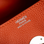 Authentic Second Hand Hermès Feu Evercolor Lindy 30 (PSS-B32-00001) - Thumbnail 4
