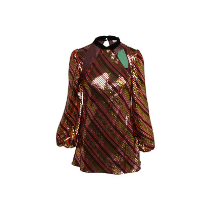 Authentic Second Hand Rixo Harriet Sequin Dress (PSS-A34-00058)