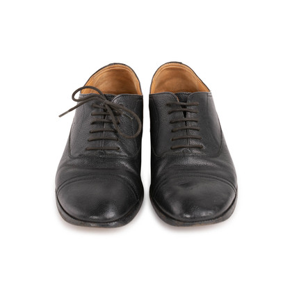 Authentic Second Hand Maison Martin Margiela Leather Derby Shoes (PSS-815-00010)