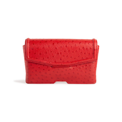 Authentic Second Hand Alexander Wang Embossed Eyeglass Case Clutch (PSS-475-00071)