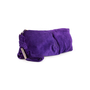 Authentic Second Hand Sergio Rossi Purple Suede Clutch (PSS-B35-00002) - Thumbnail 1