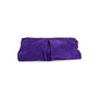 Authentic Second Hand Sergio Rossi Purple Suede Clutch (PSS-B35-00002) - Thumbnail 2