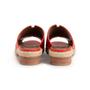 Authentic Second Hand Hermès Red Espadrille Sandal (PSS-B11-00018) - Thumbnail 2