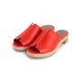 Authentic Second Hand Hermès Red Espadrille Sandal (PSS-B11-00018) - Thumbnail 3
