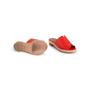 Authentic Second Hand Hermès Red Espadrille Sandal (PSS-B11-00018) - Thumbnail 5