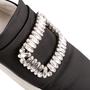 Authentic Second Hand Roger Vivier Sneaky Viv Strass Satin Sneakers (PSS-B11-00031) - Thumbnail 8