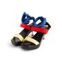 Authentic Second Hand Versace Vecro Strap Platform Sandals (PSS-A62-00018) - Thumbnail 3