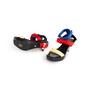 Authentic Second Hand Versace Vecro Strap Platform Sandals (PSS-A62-00018) - Thumbnail 4