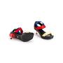 Authentic Second Hand Versace Vecro Strap Platform Sandals (PSS-A62-00018) - Thumbnail 5