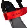 Authentic Second Hand Versace Vecro Strap Platform Sandals (PSS-A62-00018) - Thumbnail 8
