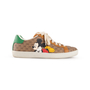 Authentic Second Hand Gucci Ace 'Mickey Mouse' Sneakers (PSS-200-02050) - Thumbnail 1
