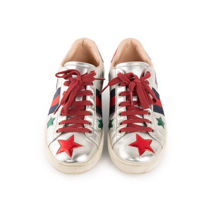 Authentic Second Hand Gucci Star Ace Sneakers (PSS-200-02053)