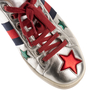 Authentic Second Hand Gucci Star Ace Sneakers (PSS-200-02053) - Thumbnail 9