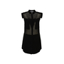 Authentic Second Hand T by Alexander Wang Sheer Panel Shirt Dress (PSS-378-00015) - Thumbnail 0