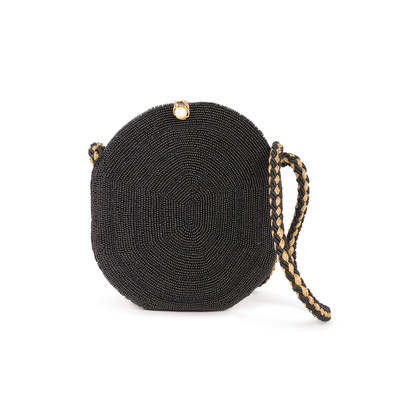Authentic Second Hand Charles Jourdan Beads Crossbody Bag (PSS-067-00419)