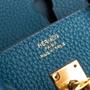 Authentic Second Hand Hermès Cobalt Birkin 25 (PSS-059-00119) - Thumbnail 4