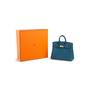 Authentic Second Hand Hermès Cobalt Birkin 25 (PSS-059-00119) - Thumbnail 7