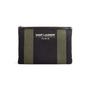 Authentic Second Hand Saint Laurent Stripe Canvas Zip Clutch (PSS-599-00034) - Thumbnail 0