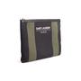 Authentic Second Hand Saint Laurent Stripe Canvas Zip Clutch (PSS-599-00034) - Thumbnail 1
