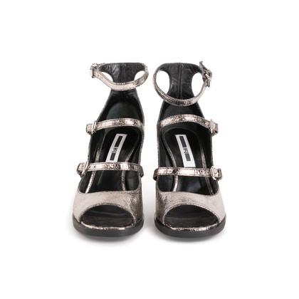 Authentic Second Hand McQ Alexander Mcqueen Angel 3 Strap Sandals (PSS-599-00035)
