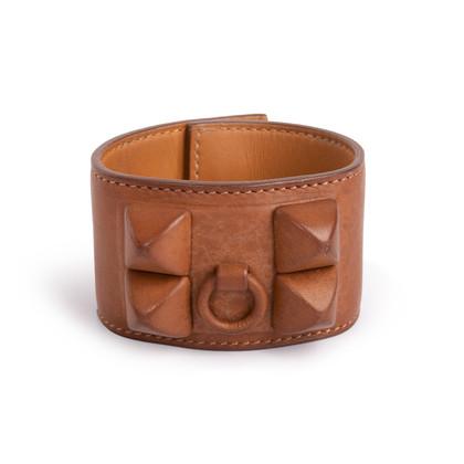 Authentic Second Hand Hermès Collier de Chien Gaine Cuff (PSS-550-00011)