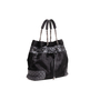 Authentic Second Hand Chanel Pony Quilted Drawstring Tote (PSS-B26-00004) - Thumbnail 1